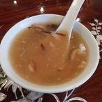 三和楼 - 蟹肉入りスープ