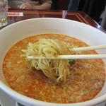 63459959 - 担々麺 麺リフト