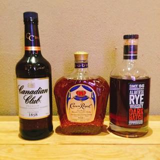 アルコールも充実!