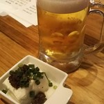イタめし酒場 viva - 生ビール+お通し