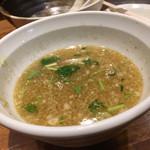 めいげんそ - スープ割りしたつけ汁