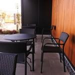 スターバックスコーヒー - テラス席