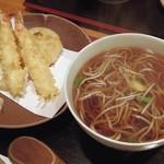 さらしなの里 - 車海老天ぷら蕎麦