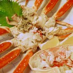 和食処 一隆 - 蒸し蟹
