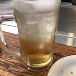 八昌 - 梅酒のソーダ割り