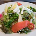 宇豆基野 - 2017.3 春野菜のサラダ