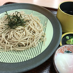 龍野西サービスエリア(上り線)スナックコーナー・フードコート  - ★★★ ざる蕎麦 香りはまあまあ、機械打ちっぽいので食感がもうひとつ