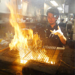 藁焼きと四国料理88屋 - 藁焼き中