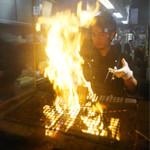 藁焼きと四国料理88屋 - 藁焼き中!