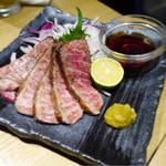 藁焼きと四国料理88屋 - 絹の味黒毛和牛サーロインの藁焼き