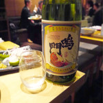 藁焼きと四国料理88屋 - 鳴門鯛 特別純米酒