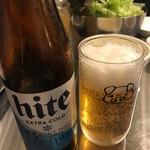 63470293 - 一杯目は韓国でも人気のあるハイトビール!