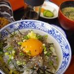 そば処 西浦屋 - 料理写真:生しらす丼