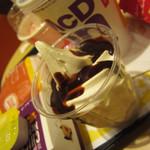 マクドナルド - チョコレートサンデー¥150