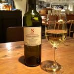 イタリアン アンド ワイン チャコール - 今回頂いたボトルワイン白