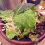 29TERIA BARUMICHI - 九州産野菜のミックスサラダ 580円
