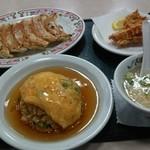 餃子の王将 - 料理写真:天理セット