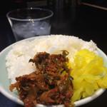 ゴル麺。 - 無限御飯(2杯目