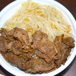 焼肉弁当カルビ亭 - カルビ丼 680円