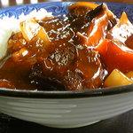 仙台屋食堂 - 牛肉と大根のカレー