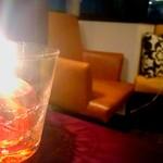 ラザーニャ・ラザーニャ - テーブルのアルコールランプ