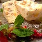 ラザーニャ・ラザーニャ - ヘーゼルナッツとプラリネとチョコチップのセミフレッド