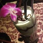 アラム バリ カフェ - 特製アボガドチョコバナナシェイク