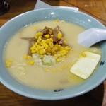 元祖 札幌や - みそラーメン+コーン+バター