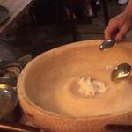 ワンサカンサ - サフラン風味のリゾット