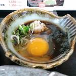 とんかつ 吉兆 - 卵入りおろしポン酢(2013,1)