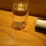 はつね寿司 - 仕込み水