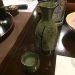 星野温泉 池の山荘 - 日本酒 2合=800円       地元の喜多屋ですぞ