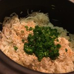 63483685 - 八皿目のシラスの炊き込み土鍋ご飯