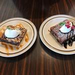バレルコーヒーアンドロースターズ - 料理写真:PJスクエア、チョコファッジブラウニー