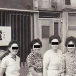 63484886 - 1963年当時のお店の前で