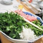 山さき - 野菜部分