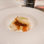 KEISUKE MATSUSHIMA - 真鯛、ういきょうのシャーベット、コンソメのじゅれかけ