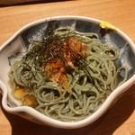 陽の介 - 〆で登場した海苔蕎麦