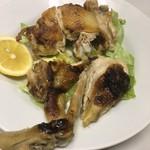 でん助 - 料理写真:鳥ジャンボ焼き