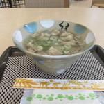 スカイカフェ いしなぎ屋 - 料理写真:牛汁