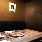 ヤキニク旭 - 室内