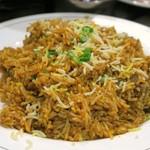グレイトカルカッタ - 長粒米によるマトンビリヤニ