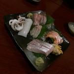 居酒屋くう - 料理写真:刺盛り/1人前(900円)※写真は2人前