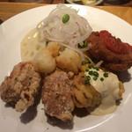 いっかく食堂 - 鶏(とり)プルチキン定食