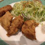 北京料理桂蘭 - 豚ヒレの天ぷら