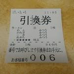 63496892 - ハイテク食券…