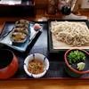 播州三木一休庵 - 料理写真:ざるそば・巻きずしセット