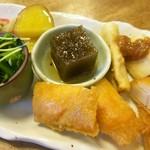 63498440 - 旬野菜料理(七種)