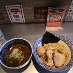 63498936 - 特製濃厚魚介つけ麺1080円