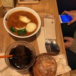 ベリーベリースープ - パルメザンチーズのビーフストロガノフ